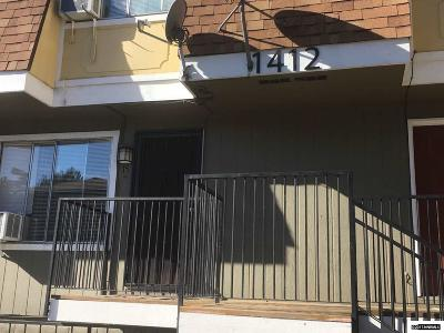 Washoe County Condo/Townhouse For Sale: 1412 E 9th St #15