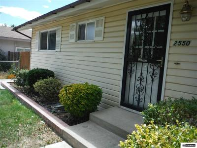 Reno Rental For Rent: 2550 Cannan St.