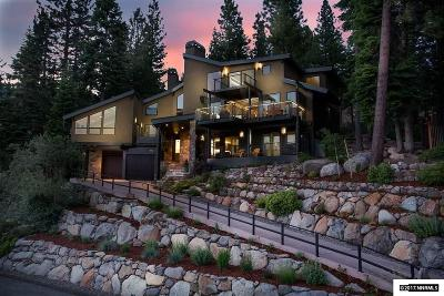 Incline Village NV Single Family Home For Sale: $4,800,000