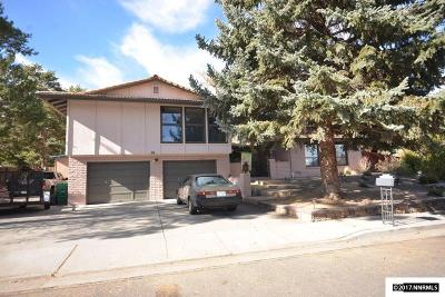 Reno Single Family Home For Sale: 1715 McNevin Court