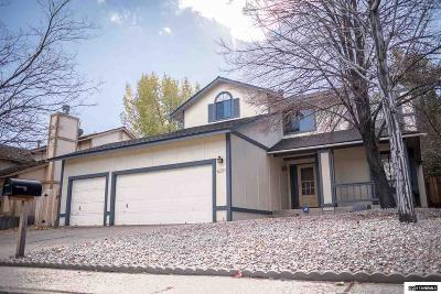Washoe County Single Family Home Active/Pending-Call: 6281 Stone Valley