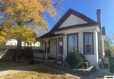 Reno Single Family Home Active/Pending-Call: 328 Moran St