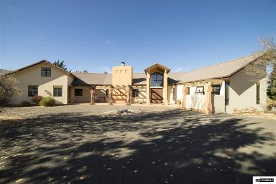 Washoe County Single Family Home For Sale: 5 Lake Meadow Lane