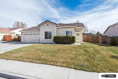 Sparks Single Family Home For Sale: 7620 La Ramba Dr.