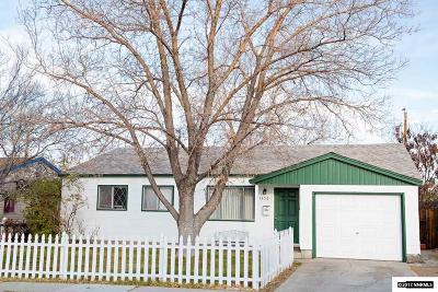 Washoe County Single Family Home Active/Pending-Loan: 1550 Tanglewood Dr.