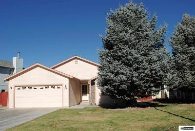 Gardnerville Single Family Home For Sale: 1516 Mill Creek Way