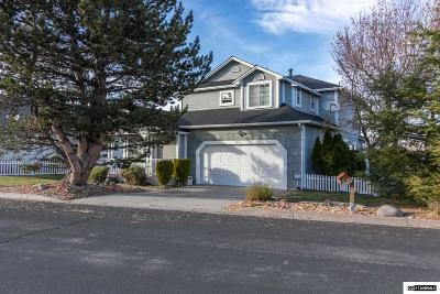 Washoe County Single Family Home Active/Pending-Loan: 3625 Brighton Way