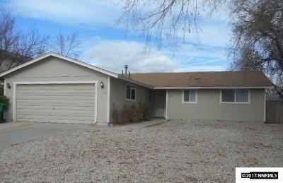 Fernley Single Family Home For Sale: 410 Shadow Lane