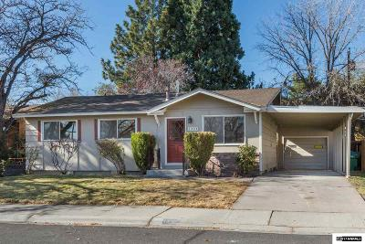 Washoe County Single Family Home Active/Pending-Loan: 1425 Doric Drive
