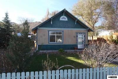 Yerington Single Family Home For Sale: 360 Second Avenue