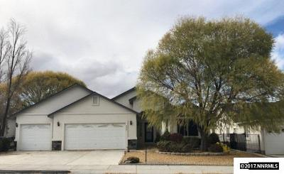 Fernley Single Family Home For Sale: 590 Wedge Lane