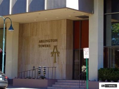 Washoe County Condo/Townhouse For Sale: 100 N Arlington Ave. #9E