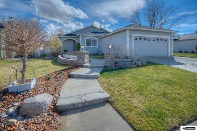 Carson City Single Family Home Active/Pending-Loan: 881 Meadow Vista Dr