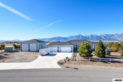 Gardnerville Single Family Home Active/Pending-House: 1160 Cortez
