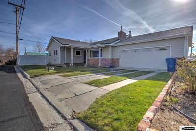 Gardnerville Single Family Home For Sale: 1496 Circle Dr.