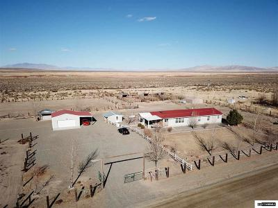 Winnemucca Manufactured Home For Sale: 8365 E Wagon Wheel