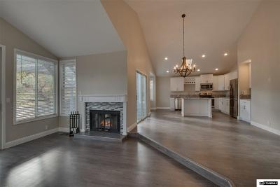 Washoe County Single Family Home Active/Pending-Call: 3404 Skyline View Drive