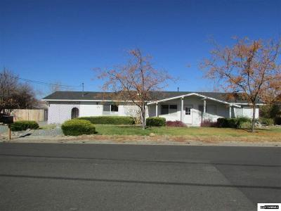 Gardnerville Single Family Home For Sale: 1374 S Riverview Drive