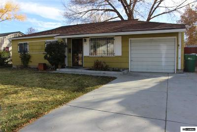 Sparks Single Family Home For Sale: 333 Sawyer