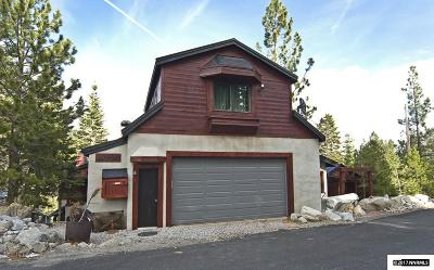 Reno, Sparks, Carson City, Gardnerville Single Family Home For Sale: 20980 Mount Rose Hwy