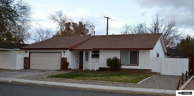 Sparks Single Family Home Active/Pending-Loan: 1640 Trabert Way