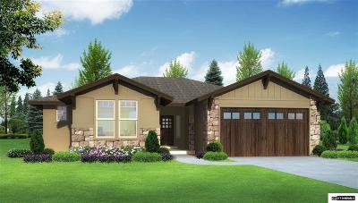 Carson City Single Family Home Active/Pending-Loan: 1122 Drysdale Ct Lot 28
