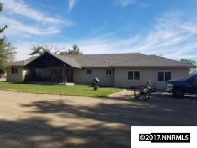 Fernley Single Family Home For Sale: 70 Northridge Drive
