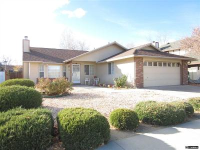 Carson City Single Family Home For Sale: 707 Armory Lane
