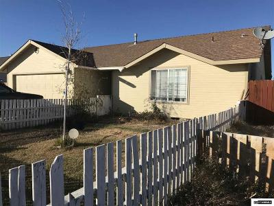 Fallon Single Family Home Active/Pending-Loan: 183 Serpa Place