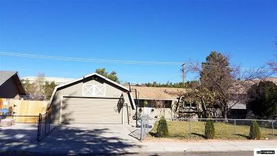 Washoe County Single Family Home For Sale: 2275 Mannington St