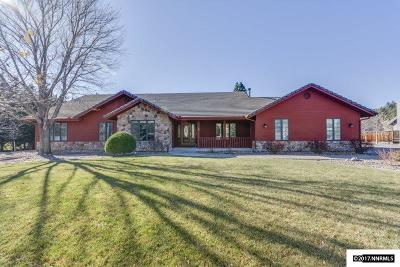 Washoe County Single Family Home Active/Pending-Loan: 115 Riverdale Cir