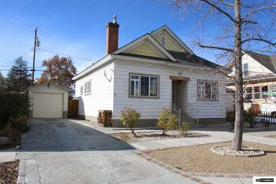 Washoe County Single Family Home For Sale: 143 Winter St