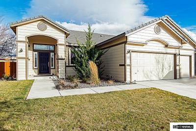 Washoe County Single Family Home Active/Pending-Loan: 7350 La Costa