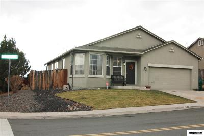 Sparks Single Family Home For Sale: 594 Sonora Pass Ct.