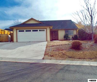 Gardnerville Single Family Home For Sale: 39 Conner Way