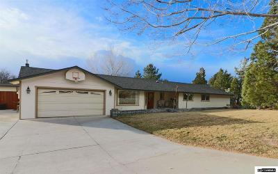 Carson City Single Family Home Active/Pending-House: 5720 Gentry Lane