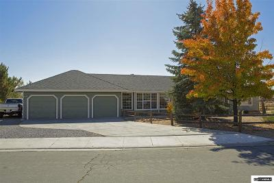 Washoe County Single Family Home Active/Pending-Loan: 9500 Benedict Dr.