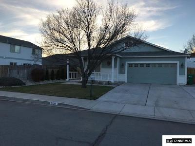 Washoe County Single Family Home Active/Pending-Loan: 5035 Pradera Street