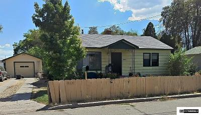 Washoe County Single Family Home For Sale: 1141 H Street