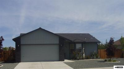 Carson City Single Family Home Active/Pending-Loan: 978 Desert Drive