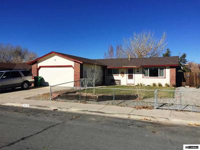 Carson City Single Family Home New: 1514 Mountain Park Drive