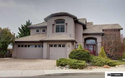 Washoe County Single Family Home New: 7080 Heatherwood