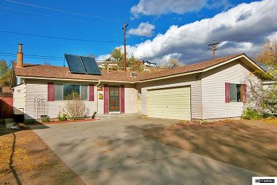 Washoe County Single Family Home New: 70 Eric Ave