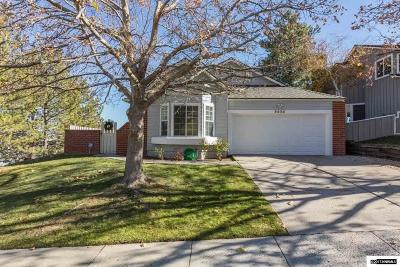Washoe County Single Family Home Active/Pending-Loan: 3530 Skyline View Dr.