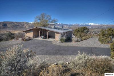 Carson City Single Family Home Active/Pending-Loan: 2330 S Deer Run Road