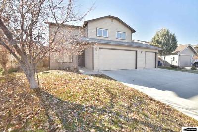Fernley Single Family Home New: 136 Desert Springs