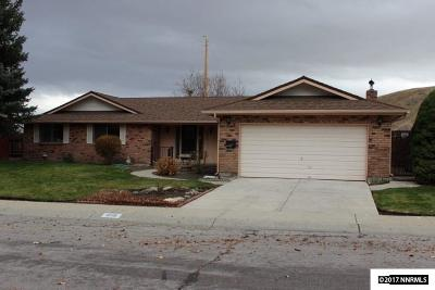 Carson City Single Family Home Price Reduced: 1215 Angels Camp Drive