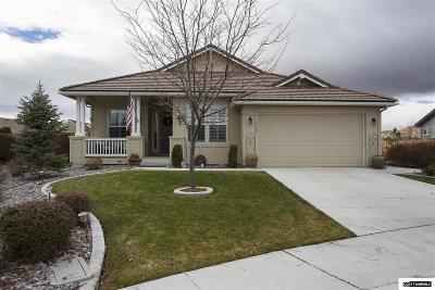 Washoe County Single Family Home New: 5709 Desert Mirage Drive