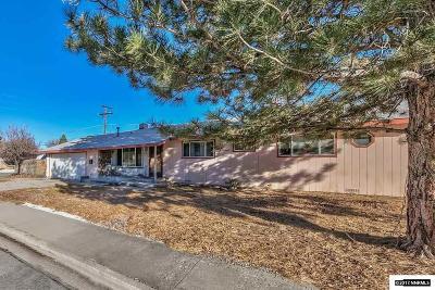Carson City Single Family Home New: 1819 Rand Ave.