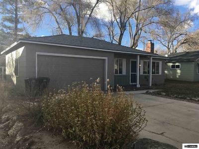 Carson City Single Family Home New: 1832 N Nevada